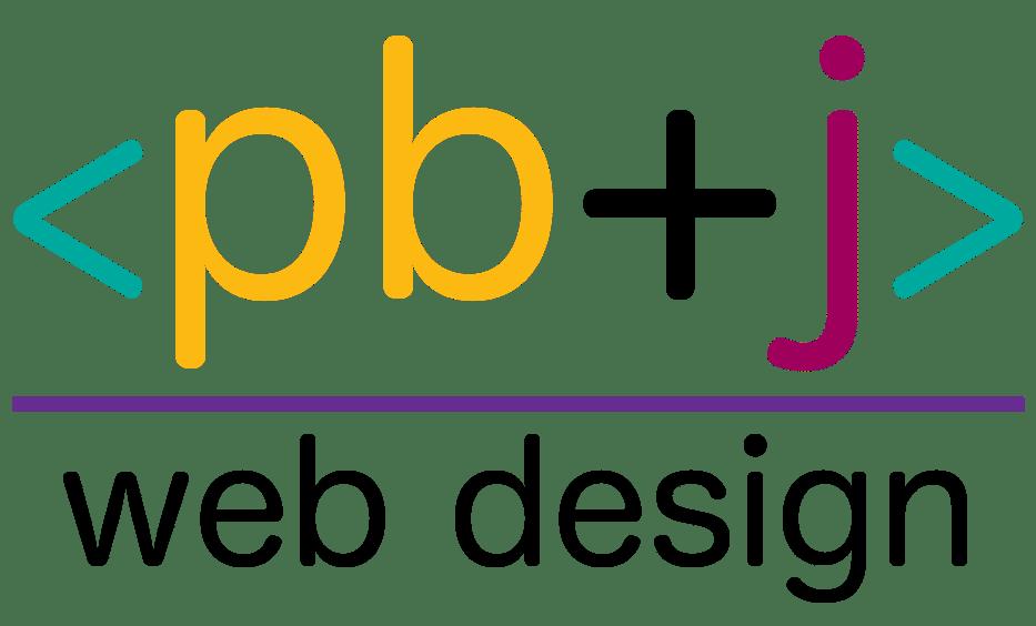 PB+J Web Design Logo